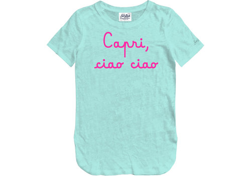 MC2 Saint Barth Mc2 Saint Barth Scarlett Crew Neck T-shirt Capri Ciao