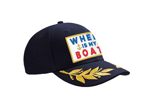 MC2 Saint Barth Mc2 Saint Barth Eric Baseball Hat With Patch Boat
