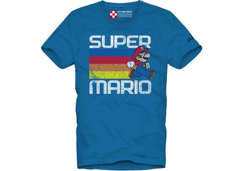 MC2 Saint Barth Mc2 Saint Barth T-shirt Man Cotton Classic Mario Run
