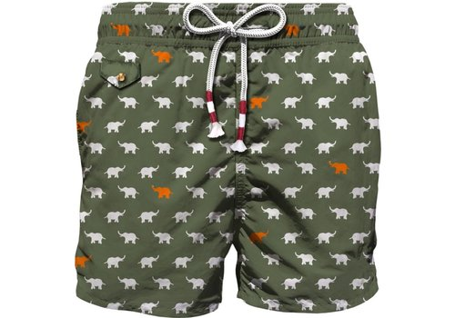 MC2 Saint Barth Mc2 Saint Barth Lightning 70 Ultralight Swim Short Mini Elephant