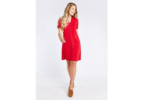 Dubarry Dubarry Druid Shirt Dress Cardinal