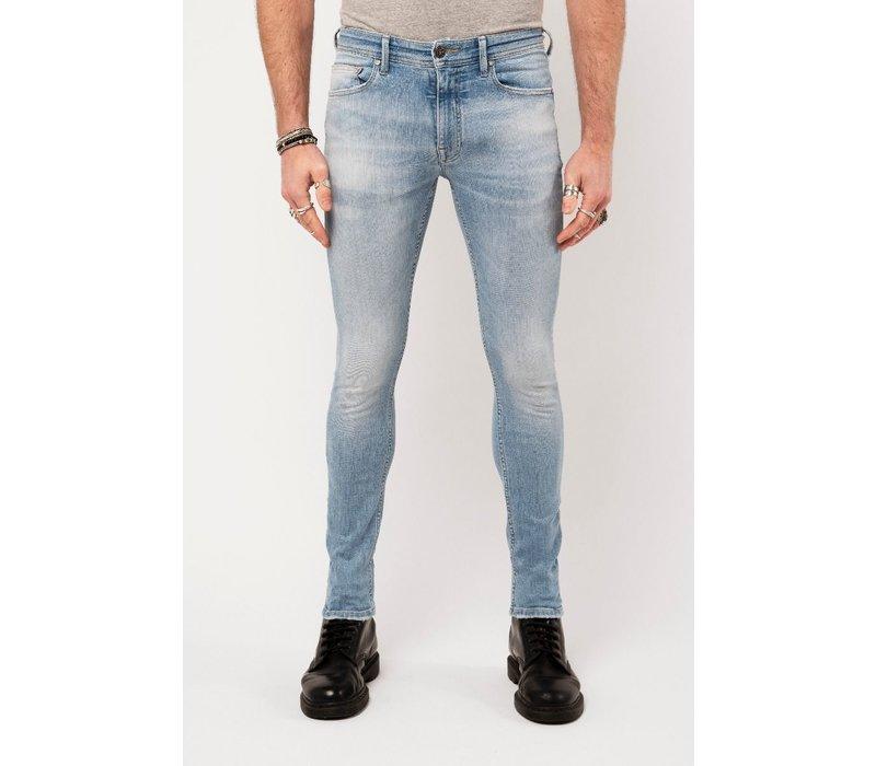 Amsterdenim Jeans Jan Slim Fit  Helder Blauw L34