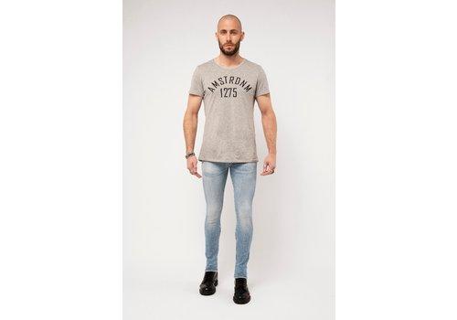 Amsterdenim Amsterdenim Jeans Jan Slim Fit Helder Blauw L32