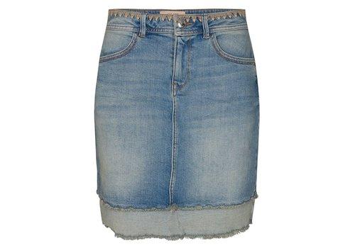 Mos Mosh Mos Mosh Everly Denim Skirt Light Blue