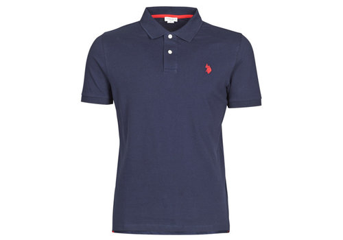 US Polo Institutional Polo Charcoal