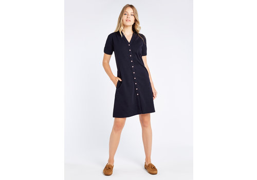 Dubarry Dubarry Druid Shirt Dress Navy