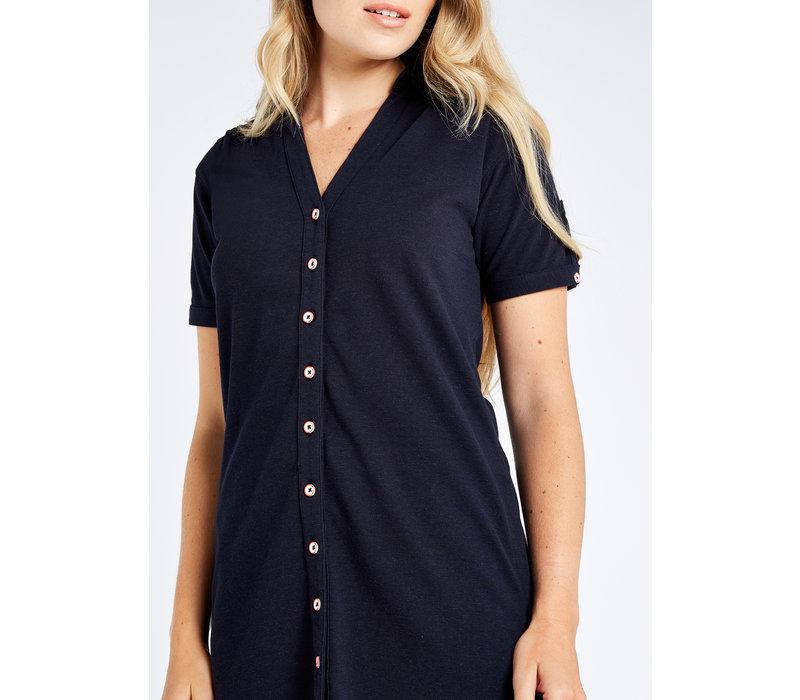 Dubarry Druid Shirt Dress Navy