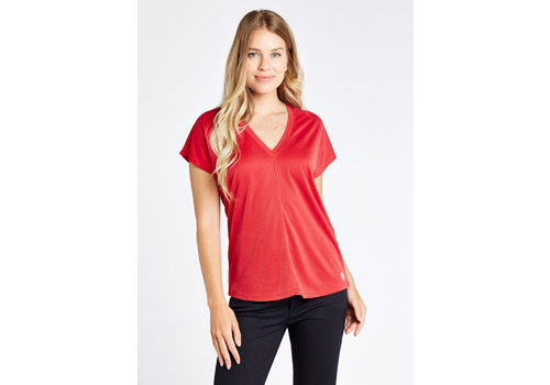 Dubarry Dubarry Laragh T-shirt V-neck Cardinal