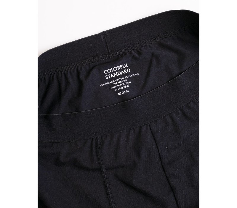 Colorful Standard Classic Organic Boxer Briefs Deep Black