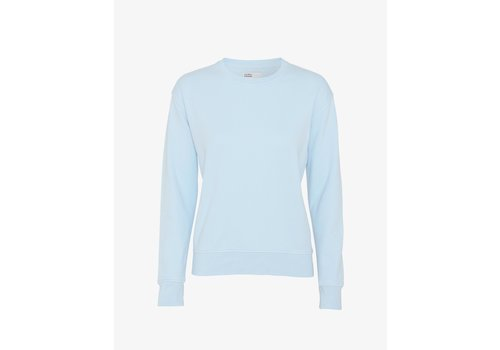 Colorful Standard Colorful Standard Women Classic Organic Crew Sky Blue
