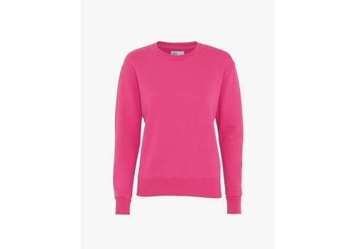 Colorful Standard Colorful Standard Women Classic Organic Crew Bright Coral