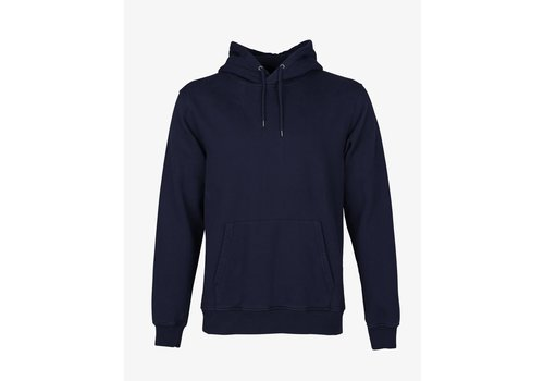 Colorful Standard Colorful Standard Classic Organic Hood Navy Blue