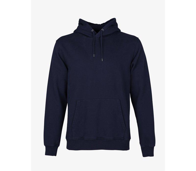 Colorful Standard Classic Organic Hood Navy Blue