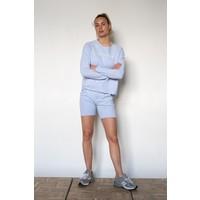 Penn & Ink Sweater F923 LTD Provence/White