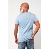 Amsterdenim T-shirt Free Bird Chest Print Sky Blue