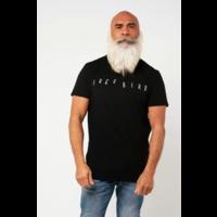Amsterdenim T-shirt Free Bird Chest Print Black
