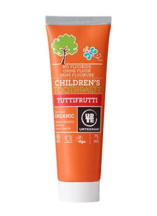 Urtekram Kindertandpasta Tuttifrutti Organic 75 ml