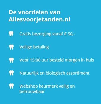 De voordelen van Allesvoorjetanden.nl