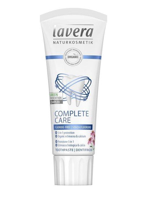 Lavera Tandpasta Complete Care Fluoride-vrij 75ml