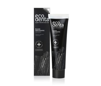 Ecodenta Tandpasta Whitening extra black 100 ml