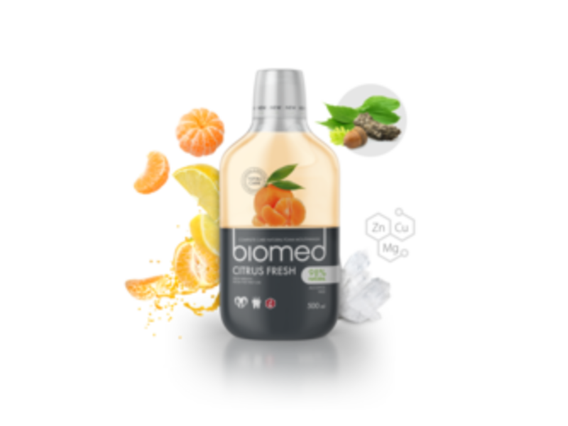 Biomed Citrus Fresh mondwater 500 ml