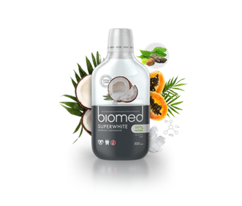 Biomed Super White mondwater 500 ml