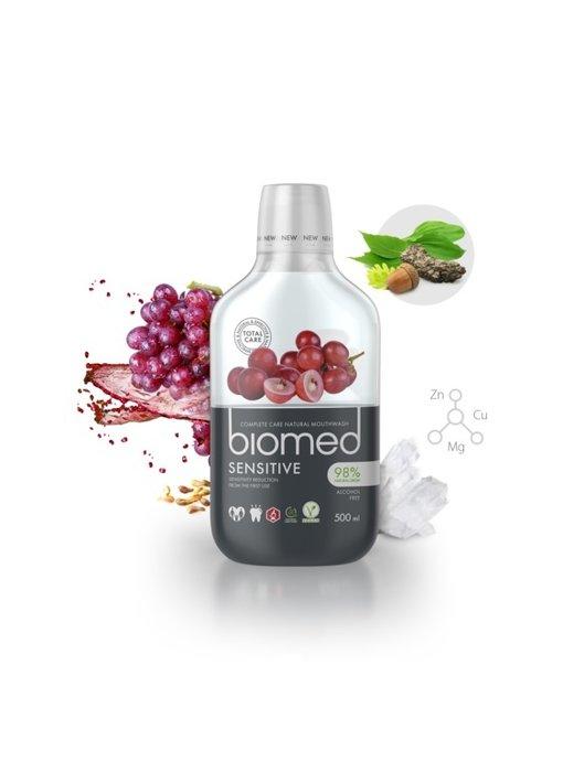 Biomed Sensitive mondwater 500 ml