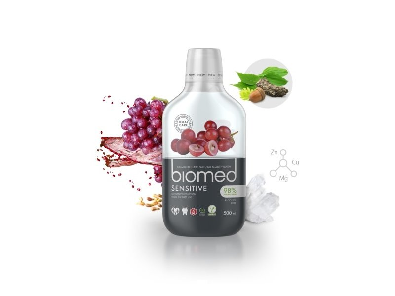 Biomed Sensitive mondwater 500 ml