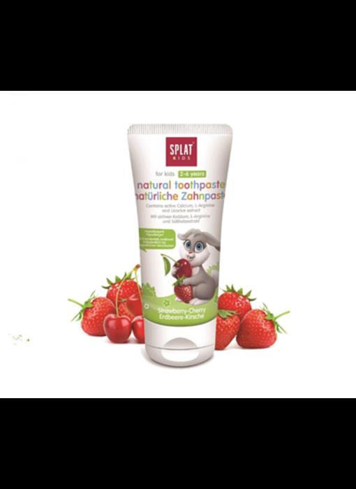 Splat Kids tandpasta Strawberry-Cherry 2-6 jaar 50 ml