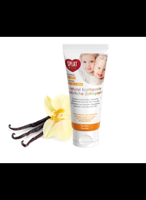 Splat Baby tandpasta Vanilla tandpasta 0-3 jaar 40 ml