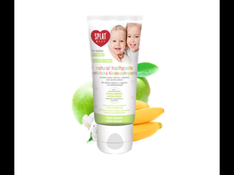 Splat Baby tandpasta Appel-Banaan 0-3 jaar 40 ml