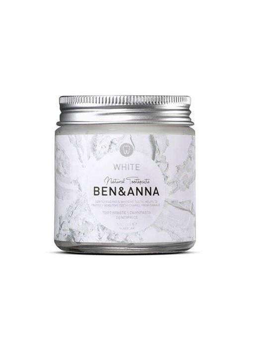 Ben & Anna White Tandpasta 100 ml