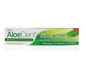 AloeDent Triple Action Tandpasta 100 ml