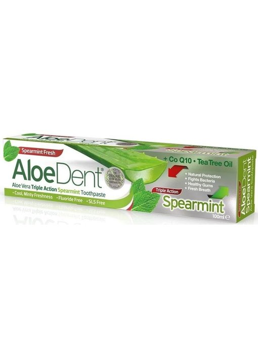 AloeDent Aloe Vera Triple Action Spearmint Tandpasta 100 ml
