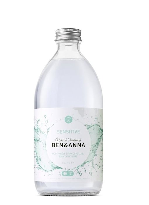 Ben & Anna Mondwater Sensitive 500 ml