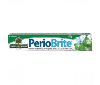 Natures Answer Periobrite natuurlijke tandpasta 22 kruiden en Q10 113 g