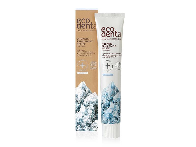 Ecodenta Organic Sensitive Tandpasta met zout 75 ml