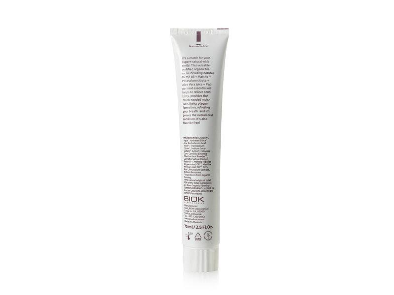 Ecodenta Organic Multifunctionele Tandpasta met hennepolie 75 ml