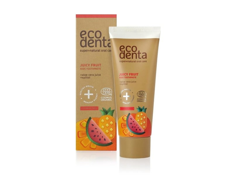 Ecodenta Organic  Kindertandpasta Juicy Fruit 75 ml