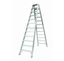 Dubbele Trap 2x10 treden (max. werkhoogte 4,50 m)