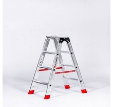 Premium Dubbele Trap 2x4 (max. werkhoogte 2,95 m)