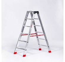 Dubbele Trap 2x5 (max. werkhoogte 3,18 m)