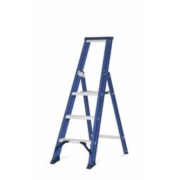 DAS Hercules Bordestrap 1x3 treden blauw gecoat