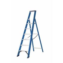 DAS Hercules Bordestrap 1x6 treden blauw gecoat