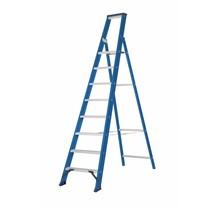 Hercules Bordestrap 1x8 treden blauw gecoat