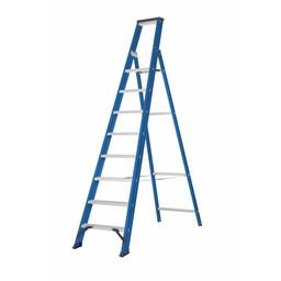 DAS Hercules Bordestrap 1x8 treden blauw gecoat