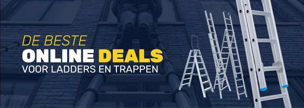 Ladderdeals ladders en trappen