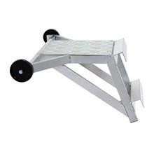 Aluminium ladderafhouder + traanplaat