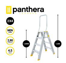 Panthera Dubbele trap 2x4 treden