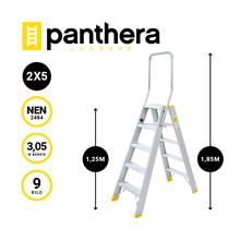 Panthera Dubbele trap 2x5 treden